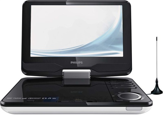 philips pd 9015 12 tragbarer dvd player 23cm 9 dvd. Black Bedroom Furniture Sets. Home Design Ideas