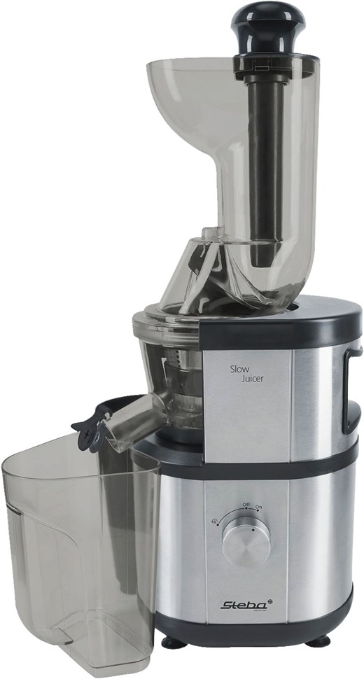 steba e 400 entsafter saftpresse slow juicer 1ltr saftauslauf ebay. Black Bedroom Furniture Sets. Home Design Ideas